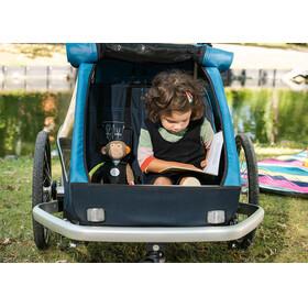 Croozer Kid Plus For 2 Kinderanhänger ozeanblau